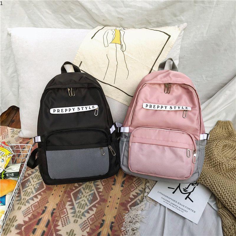 Fashion Women Backpack Nylon School Backpacks for Teenage Girls ... c661318a67