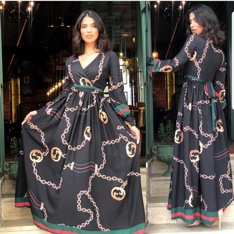 61c324b7e43e3 African Dresses For Women African Clothes Africa Dress Print Chiffon ...