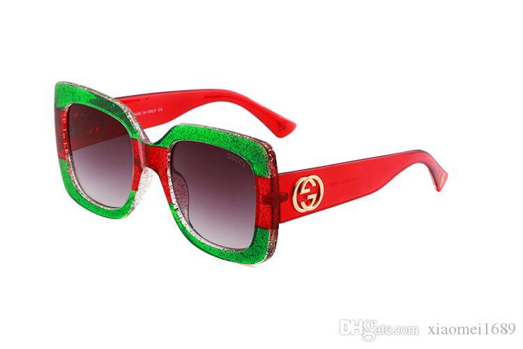 a95d961343 Compre Con La Caja 2019 Moda Para Hombre Gafas De Sol De Diseñador Para  Hombres Gafas De Cuerno De Búfalo Vintage Oro Plata Marco De Leopardo  Mujeres Sin ...