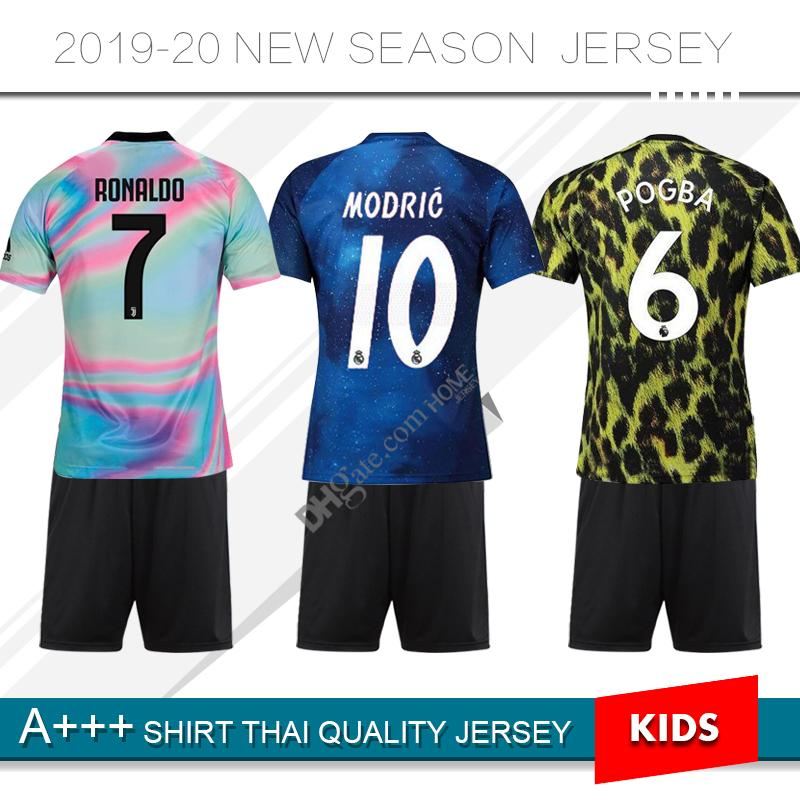 2019 19 20 Juventuses Limited Edition Soccer Jersey 2020 Man   Soccer Kids Kit  2019 Real Madrid Child Special Version Football Uniform From Homejersey 8701733ad