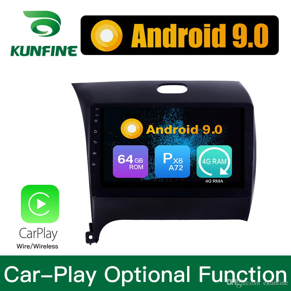 Android 9.0 Ram 4G Rom 64G PX6 Cortex A72 Car DVD GPS Multimedia Player Car Stereo Navigetion For KIA K3 2012-2016 Radio