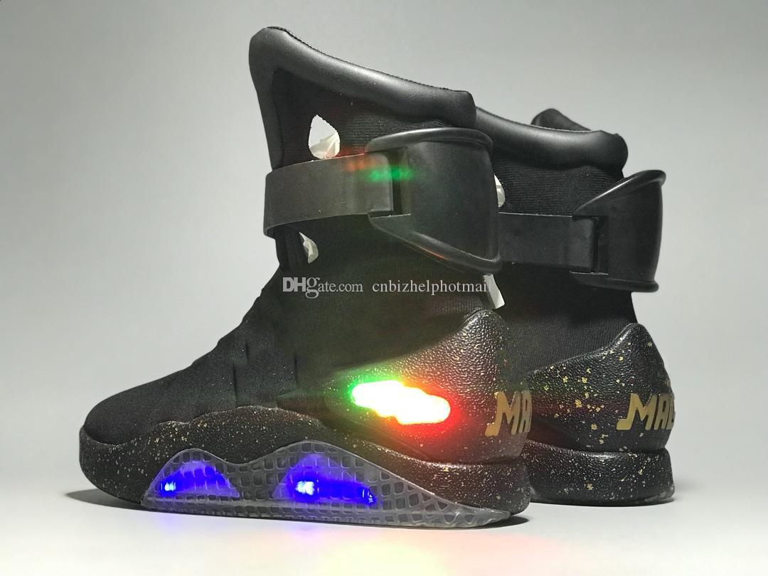 9f904e5389b2f4 High Top Sneakers Mens Mag Back To The Future Boots