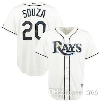 wholesale dealer 530c2 9e5ea 2019 Custom Tampa Bay Rays Sports Champion mlb Cheap Baseball Jerseys  Fashion Men Youth Corey Dickerson Kevin Kiermaier Jersey Sizes kids