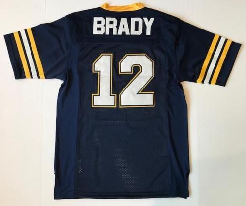 promo code 2a775 3f4e2 Tom Brady Padres High School Retro Football Jersey NWT the reverse side  football jersey men jersey