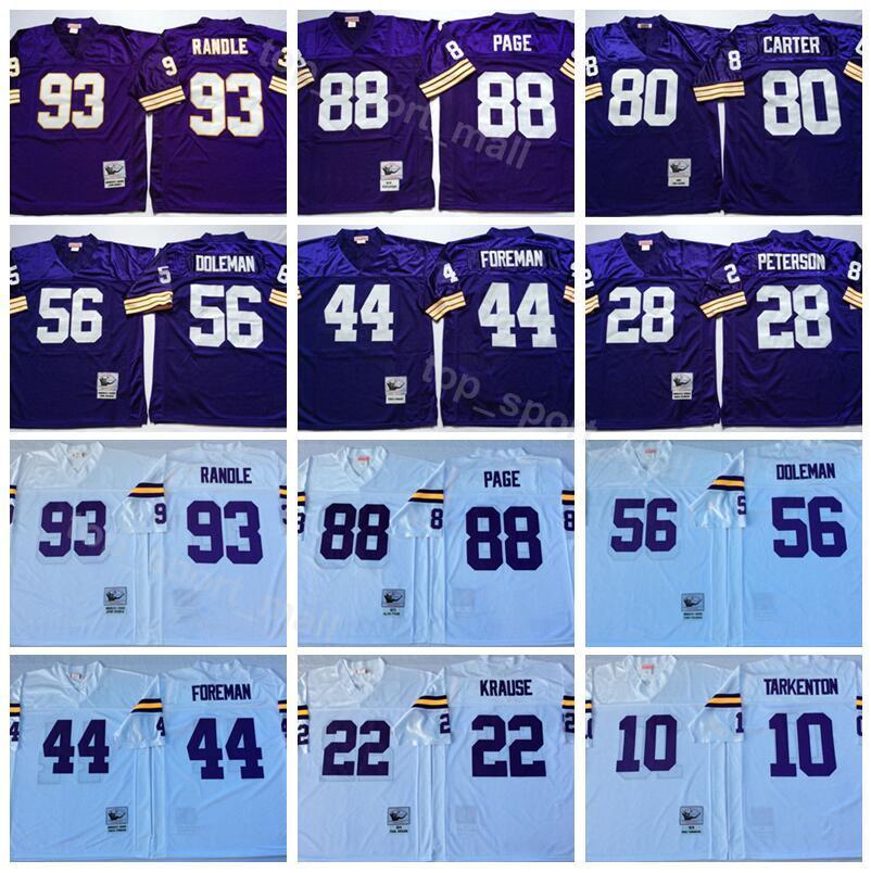 0ef33ee2fca john randle jersey Mens Football Vintage Minnesota Vikings ...