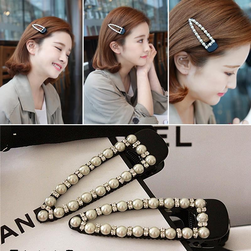 New Hot Women Imitation Rhinestones Hairpin Toothed Fashion Crystal Shiny Alloy Hair Clip Hair Accessories