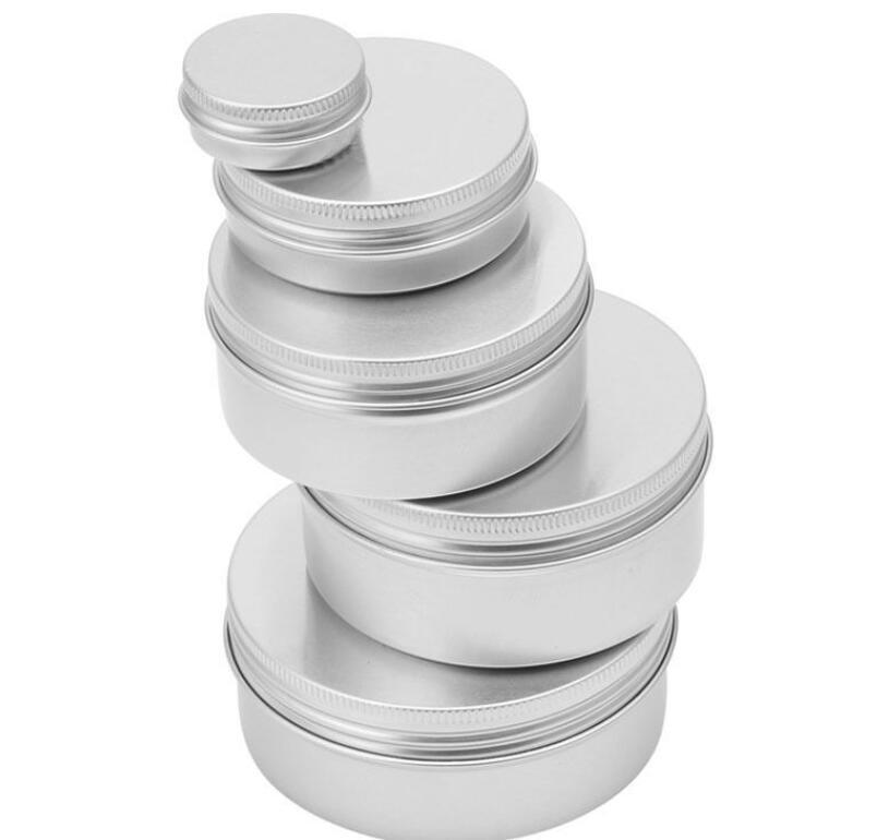 518cc2269551 Aluminium Empty Cosmetic Pot Jar Tin Container Aluminum Can Empty Metal Tin  Cans Cosmetic Makeup Containers KKA6466