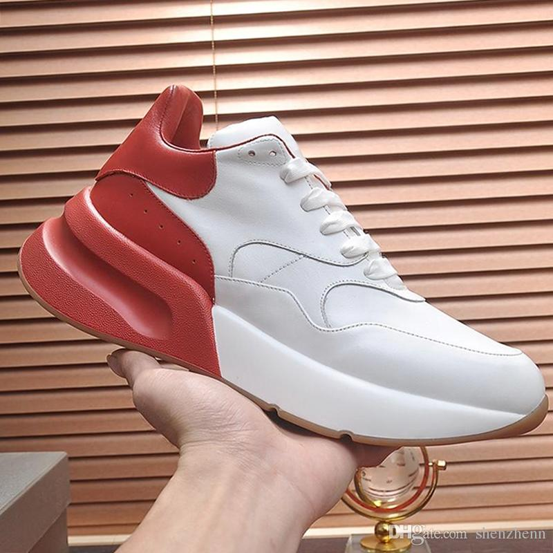 Fashion Mens Shoes Sneaker Breathable with Origin Box Zapatos de hombre Jogging Men Shoes Cusual Leather Big Size Oversized Design Q33 Style