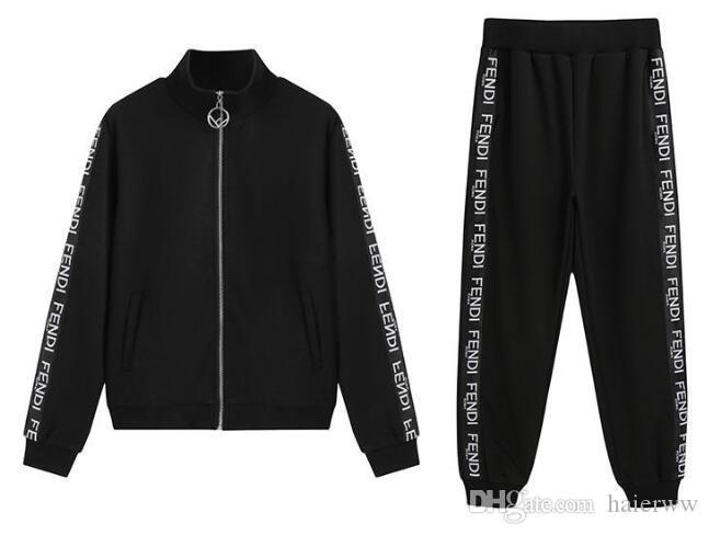Objective 2019 New Men Clothing Tracksuit Set Mens Set Spring Autumn Men Sportswear 2 Piece Set Sporting Suit Jacket+pant Sweatsuit Home