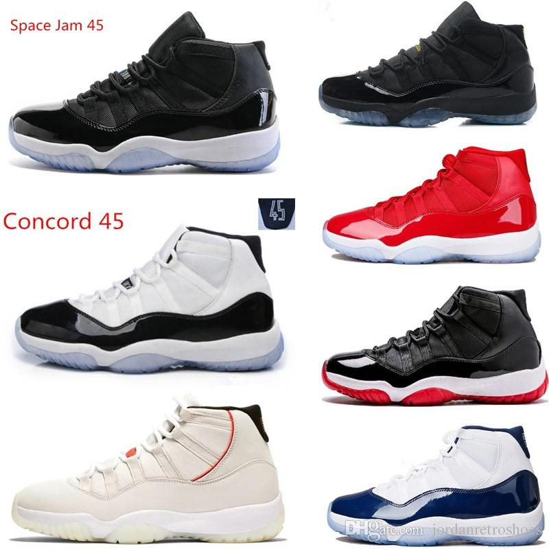006049c8032ed7 Platinum Tint 11s Concord 45 23 Prom Night Basketball Shoes 11 Gym ...