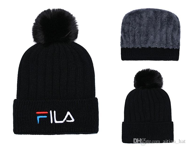 94f89ede95f 2019 Winter Cotton Caps Wholesale Sport Beanie Knitted Caps Hip Hop Casual  Beanies Skull Hats Men Women High Quality Gorros Hat Crochet Hat Baseball  Hats ...