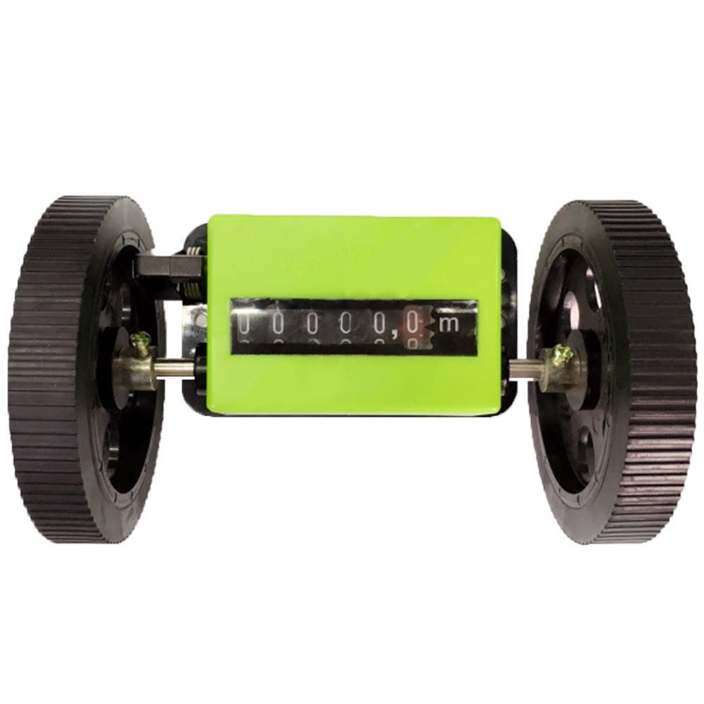 Portable Mechanical Rolling Wheel Durable Counter Meter Length Textile Correct Count