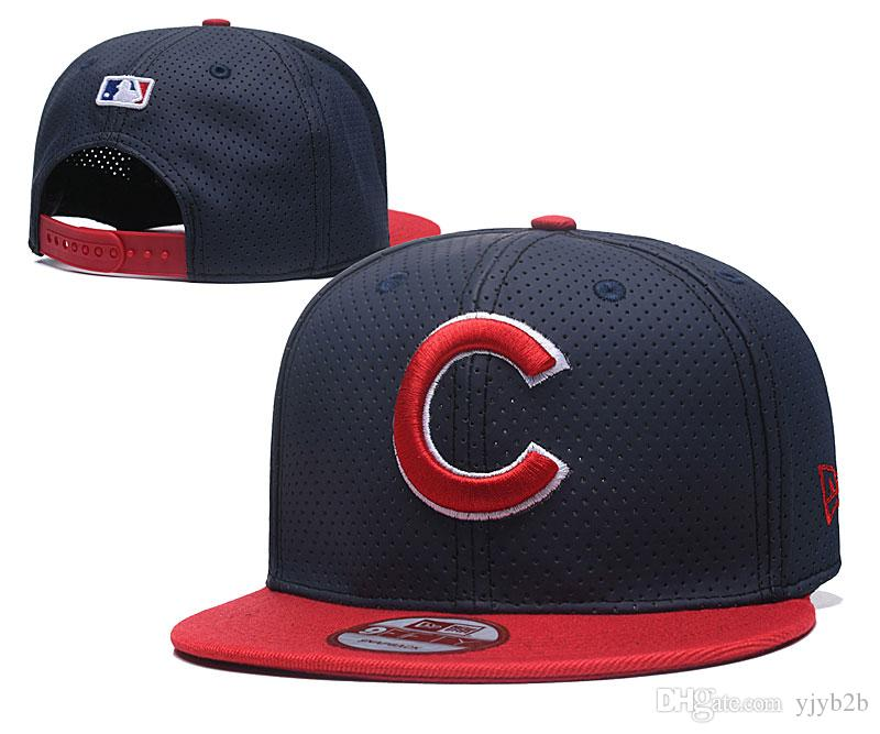 f46f06393288d2 Wholesale Top Quality Cubs Snapback Hats Gorras Embroidered Letter ...