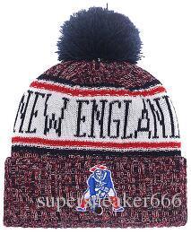 a3e882b7d04 2019 New Wholesale Sport Winter Hats Patriots Stitched Team Logo ...