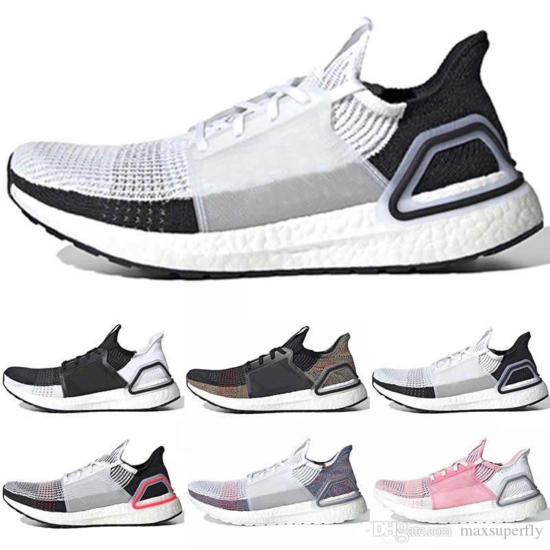 the latest 2abcf 1aff9 Quality Ultra Boots 2019 UB 5.0 Black White Multi Color Laser Red Oreo  Refract Dark Pixel Men Women Running Shoes Ultra 19 Sneakers 36-45