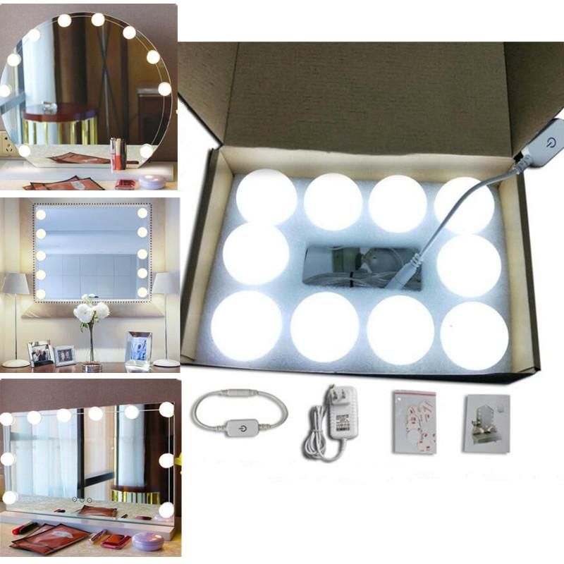 2019 Led Bulbs Mirror Hollywood Vanity Makeup Mirror Lights Led Lamp