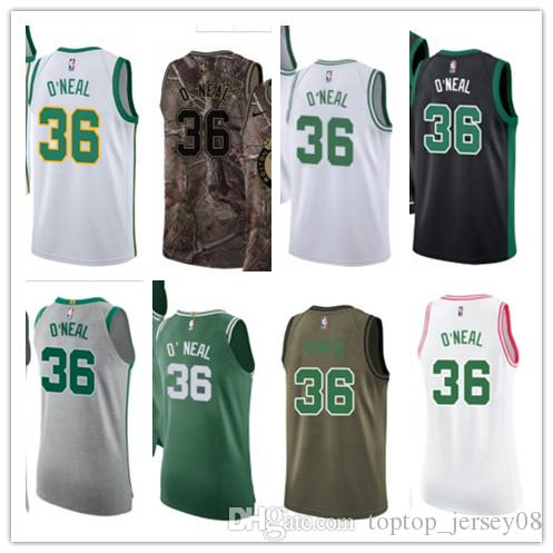 SPORT Basketball Wear Youth women Men s Boston Celtic 36 Shaquille O ... 7c7f2c172
