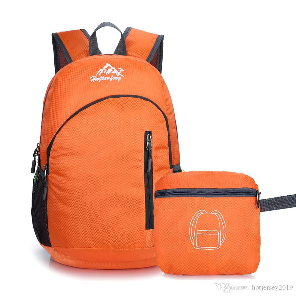 2019 15L Outdoor Bags Camping Portable Backpack Lightweight Water Resistant  Travel Hiking Daypack Foldable Backpack  288256 From Hotjersey2019 3fe266e16d3b1