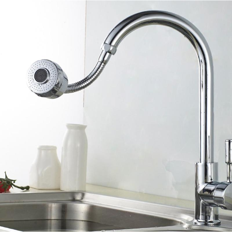 360 Rotate Water Faucet Extender Nozzle Filter Kitchen Diffuser Shower Faucet Accessories