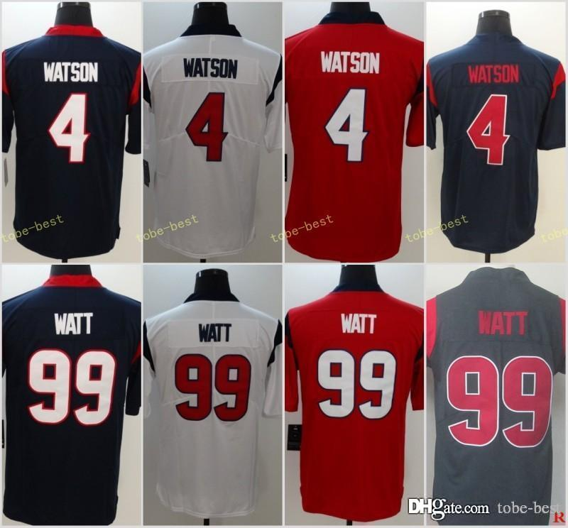 2019 2018 New Men S Houston 99 J.J. Watt Texans 32 Tyrann Mathieu Jersey 4  Deshaun Watson 90 Jadeveon Clowney Jerseys From Tobe Best 64accce2c