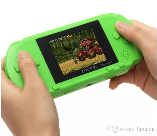 Superiore 2,8 pollici giocatore del gioco PVP 3000 (8 Bit) 2.5 pollici schermo LCD Video tenuto in mano del giocatore del gioco Console Mini portatile Game Box VS PXP3
