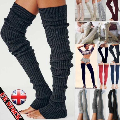 купить оптом 2019 новая нога теплый чулок женские зимние вязать