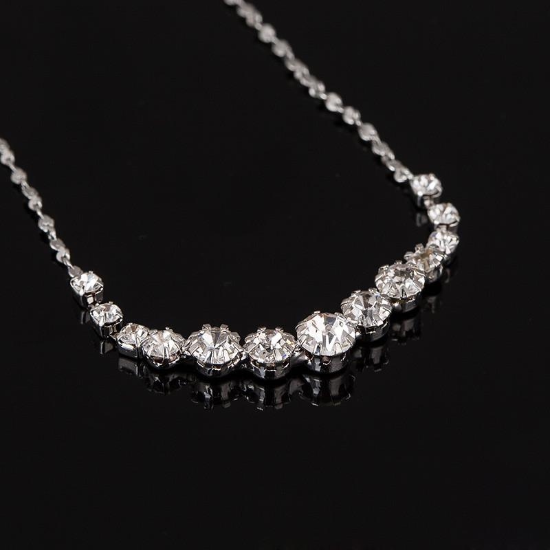 YFJEWE Fashion Austria Crystal Earrings Necklaces Bridal Jewelry Sets Christmas gift Dress Wedding Accessories Jewellery #N190