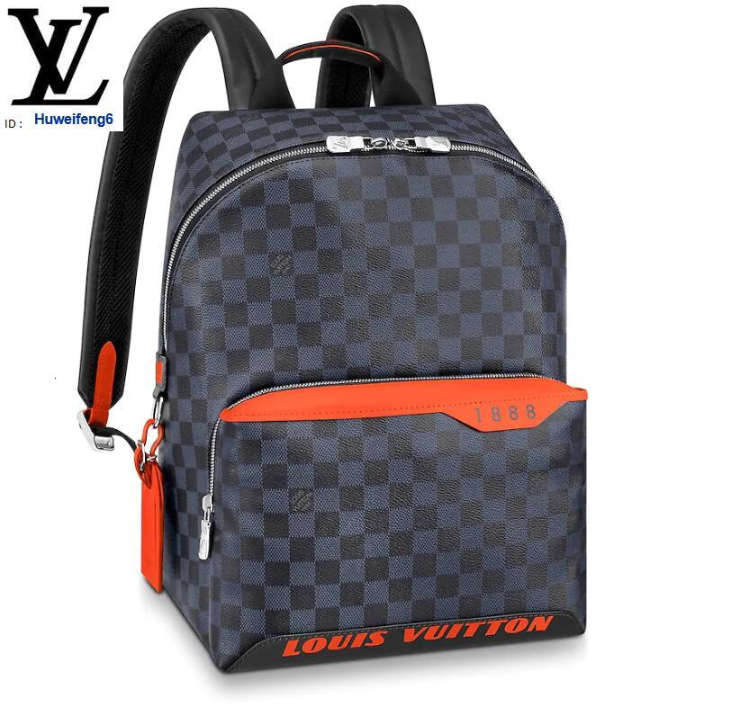 Libobo6 N40157 DAMIER COBALT RACE DISCOVERY BACKPACK PM MEN FASHION BACKPACKS BUSINESS BAGS TOTE MESSENGER BAGS SOFTSIDED LUGGAGE ROLLING