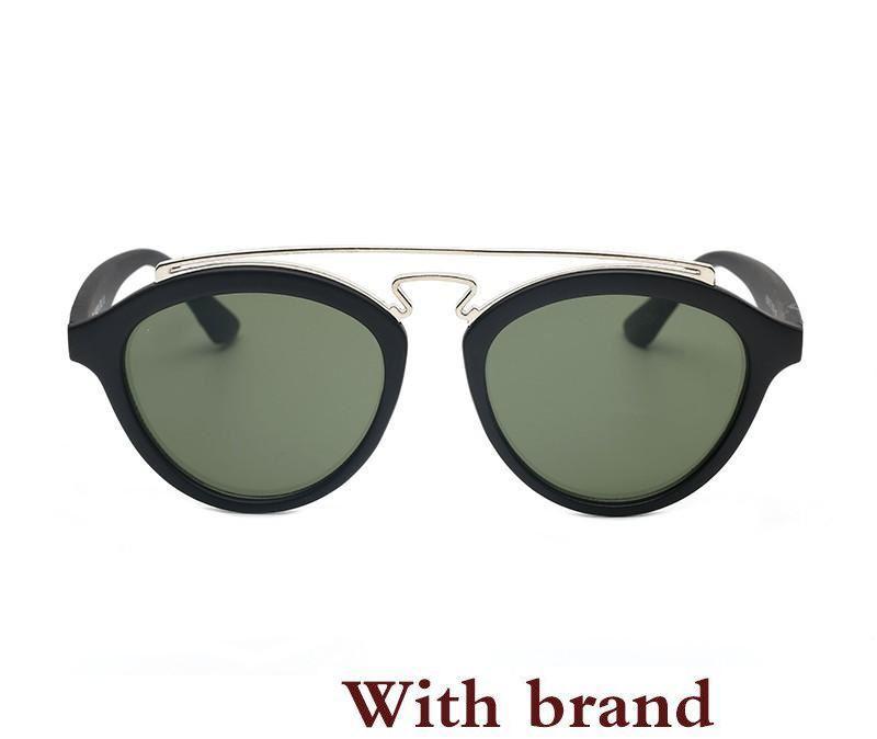 a7d01f3d9e Compre Lentes De Color Gafas De Sol USAfamous Con LOGO 4257 Mujeres Hombres  Oval Gafas De Sol Retro Vintage Lujo Diseñador Gafas De Espejo A $10.06 Del  ...