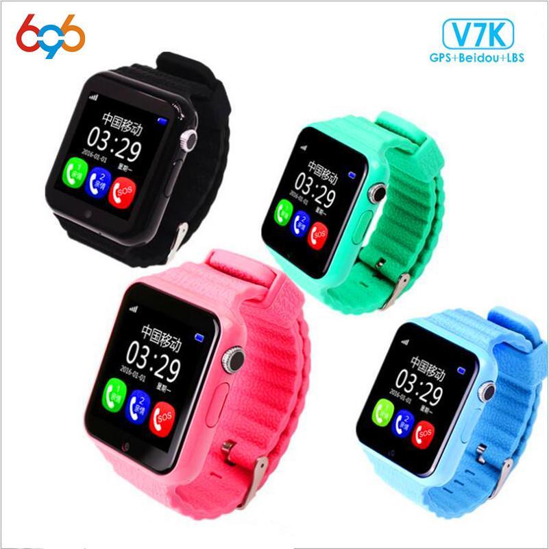 bfad551bed Relojes Moviles 696 GPS V7K Smart Watch Kids Con Cámara Facebook SOS  Ubicación De Llamada DevicerTracker Monitor Anti Perdida PK Q90 Q50 DS18  Relojes Marcas ...