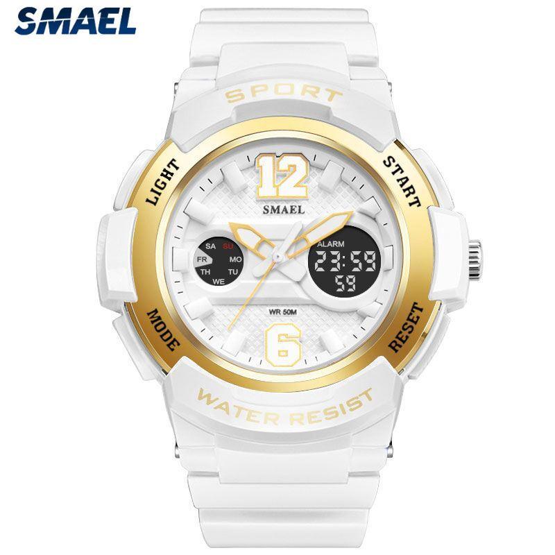 f7616df2f1b Compre Smael Top Marca De Luxo Relógio Digital Crianças Moda Casual Sport  Relógio De Quartzo Menino Menina Dress Criança Relógios Mens Relogio  Masculino De ...