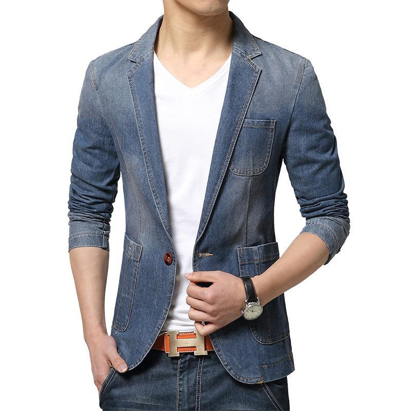 565c611f9986 Acquista Giacca Sportiva Da Uomo In Blazer Di Alta Qualità Invernale Giacca  Da Uomo Fashion Jacket Manica Lunga Uomo Alla Moda Nuovi Arrivi Slim Fit  Blazer ...