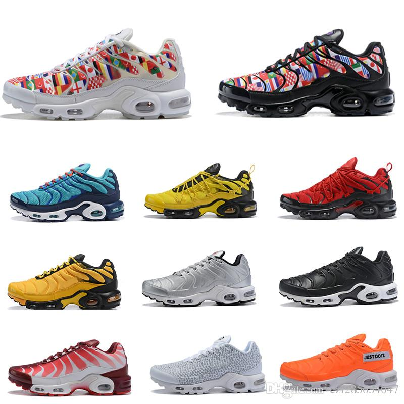 c5a63c5f230 2019 Before After The Bite TN Plus 90 Hyper Blue International Flag NIC QS  Men Women Running Shoes Limited Tns Sneakers Size 36 45 With Box Shoe Shops  ...
