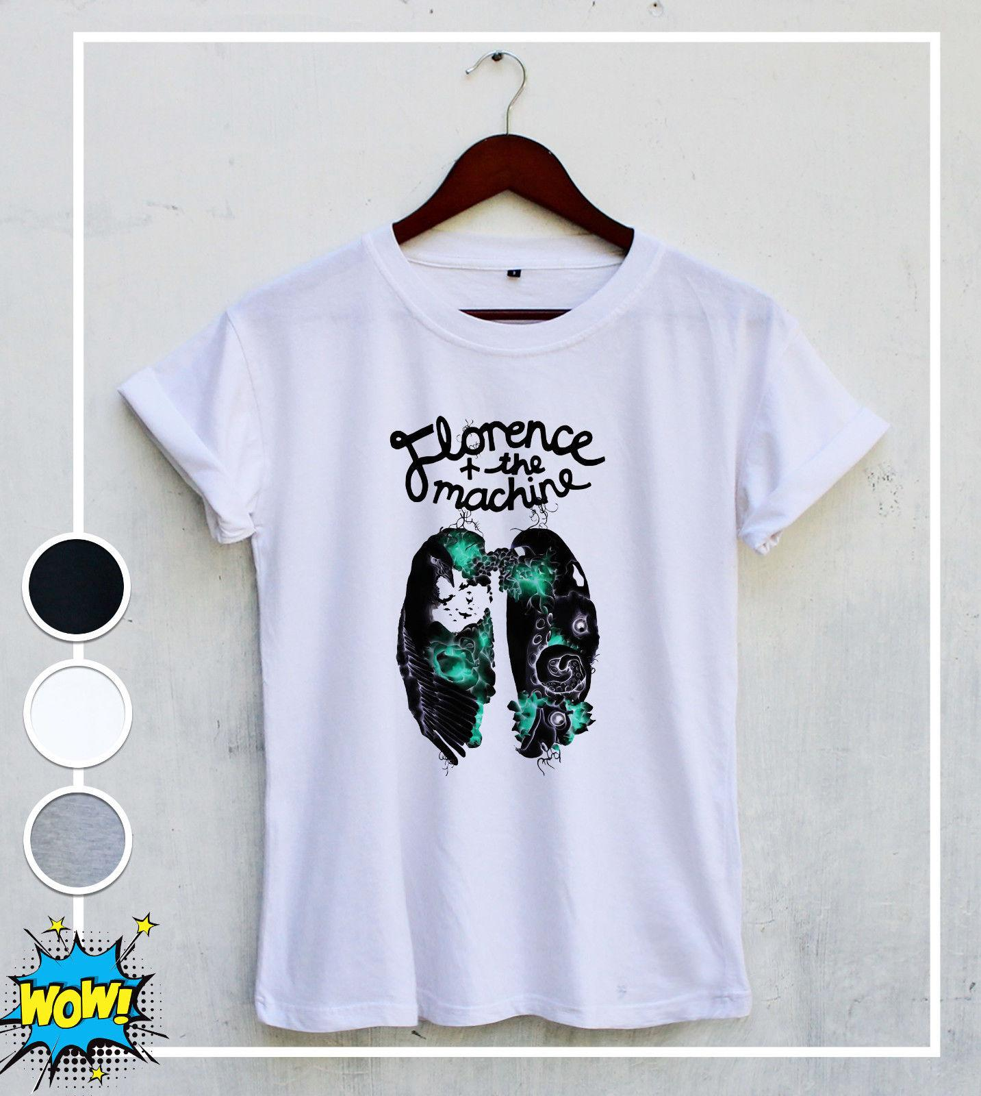 49e67d88 Florence And The Machine LUNGS BIRD Tour Rock Music Best T Shirt Unisex  Cotton Funny Unisex Casual Tshirt Top T Shirt Deals Humor Shirts From  Thebestoree, ...
