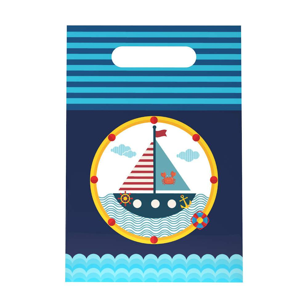 Thw New New Year gift cartoon theme gift bag nautical boat theme party birthday supplies