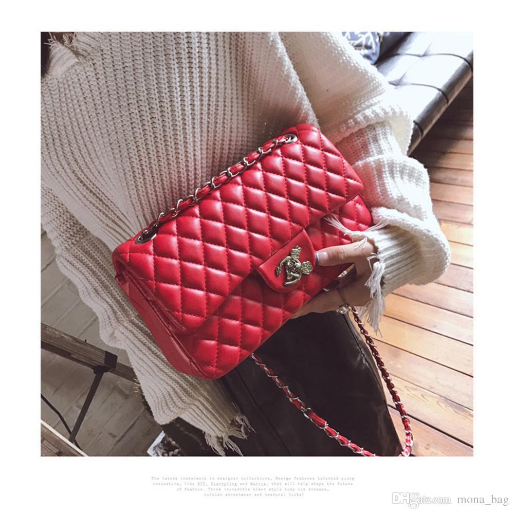 aad35343e7fb Women Vintage Single Luxury Handbags New PU Leather Designer for Women Bag  Designer Luxury Handbags Purses Designer Handbags 4 Colour 001 Designer  Handbags ...