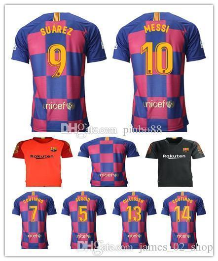 8ca19343d 2019 2019 Spanish Championship 18 19 20 Soccer Jersey 10 Messi ...
