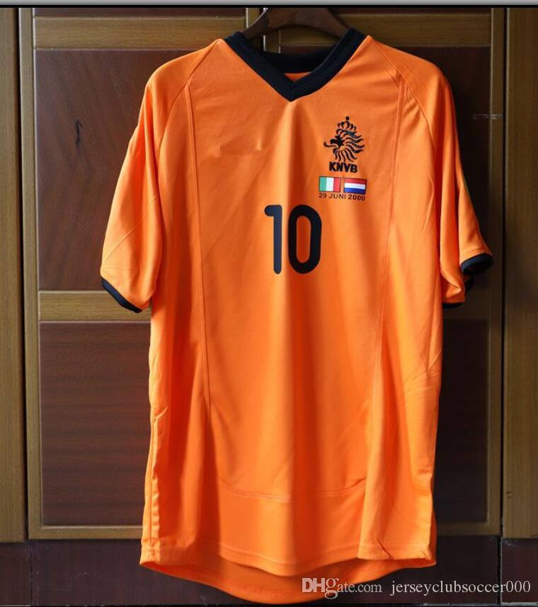 80bbad7d596 2019 Retro Soccer Jersey Netherlands Bergkamp 1994 1996 2000 Home Away  White Football Shirts Voetbal Holland Seedorf From Jerseyclubsoccer000