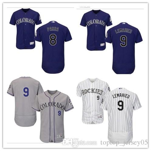 reputable site 02a27 6d436 2018 can Colorado Rockies Jerseys #9 DJ LeMahieu Jerseys  men#WOMEN#YOUTH#Men's Baseball Jersey Majestic Stitched Professional  sportswear