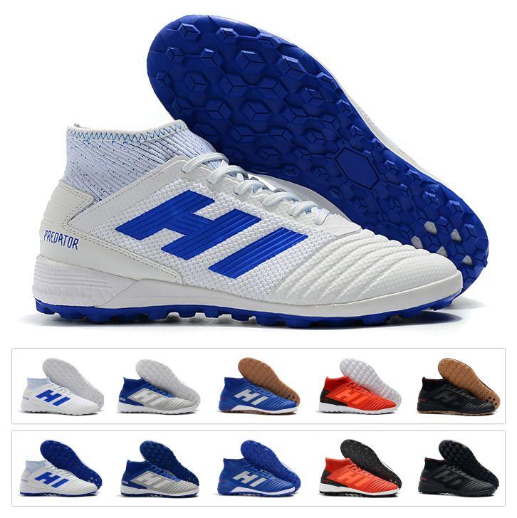 Nuovo 2019 Predator 19.3 TF IC Tango Indoor Paul Pogba PP alta caviglia 19 Mens scarpe da calcio scarpe da calcio tacchetti dimensioni 39 45
