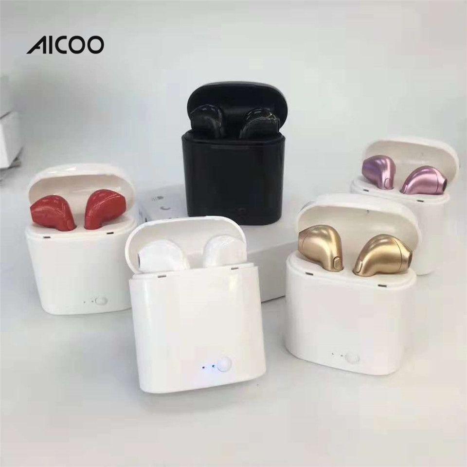 4c20c73ada5 Comprar Moviles Online Aicoo Auriculares Bluetooth I7S TWS Gemelos  Auriculares Auriculares Inalámbricos Auriculares Estereofón V4.2 Para  IPhone Android ...
