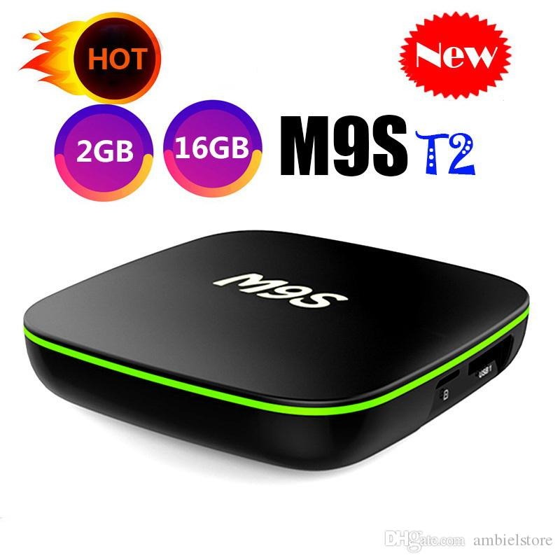 Original M9S T2 Android TV Box Allwinner H3 Quad Core 1GB 8GB 2GB 16GB 4K  H 265 1080P Video Streaming Better MXQ PRO RK3229 S905W TX3 X96 2G