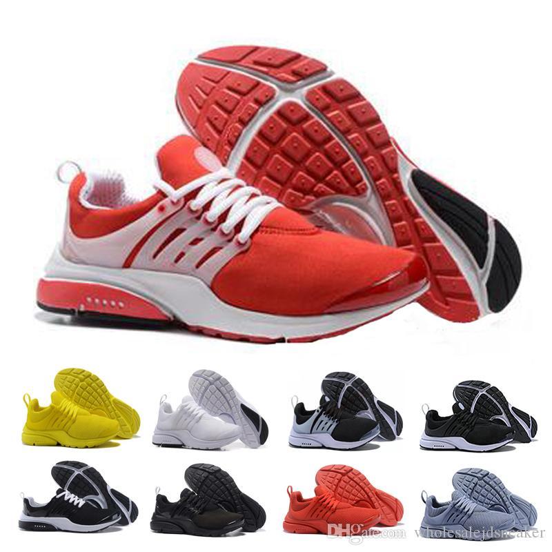 separation shoes 6d7c3 e592c Großhandel Nike Air Presto 2019 Neuer Designerschuh Presto Laufschuhe Weiß  Schwarz Khaki Männer Womens Athletic Jogging Sport Turnschuhe 5,5 11  Wholesale ...