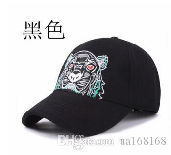 Compre 2019 Nuevo Diseñador De Moda Para Hombre De Lana Gorras De Béisbol  Marca Tiger Head Sombreros Bordados Hombres Mujeres Sombreros Mujeres Casual  ... 30bc59eccb0