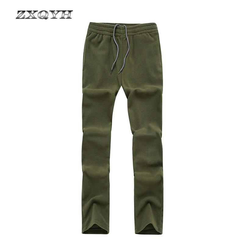 ZXQYH Winter Windproof Men Fleece Pants Hiking Trekking Sport Pants ... bc830a15d