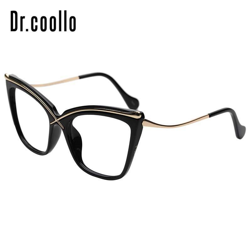 6fca6dd6b3 Compre Gafas De Gafas De Sol Ópticas Recetadas De Gran Tamaño De Ojo De  Gato De Moda Para Mujeres A $29.81 Del Marquesechriss   DHgate.Com