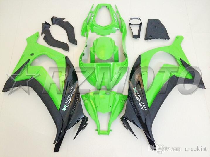 New Injection ABS Fairings Kit Fit For Kawasaki Ninja ZX-10R ZX10R 10R 2011 2012 2013 2014 2015 body 11 12 13 14 15 color green nice