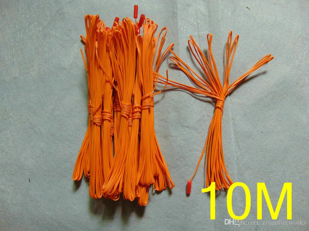 DHL/FedEx 1000cm 200pcs copper wire pyrotechnic USA christmas gift Electronics wire fireworks machine CE FCC Passed fireworks Firing System