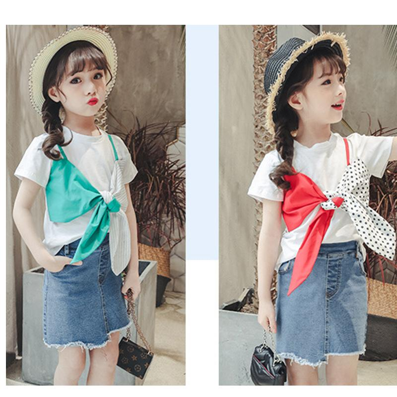2019 Kid Fashion T-Shirts Baby Girl Summer Clothes New Design T Shirt Top Tshirt Kids Clothing Boys Tops Baby Girls Clothes