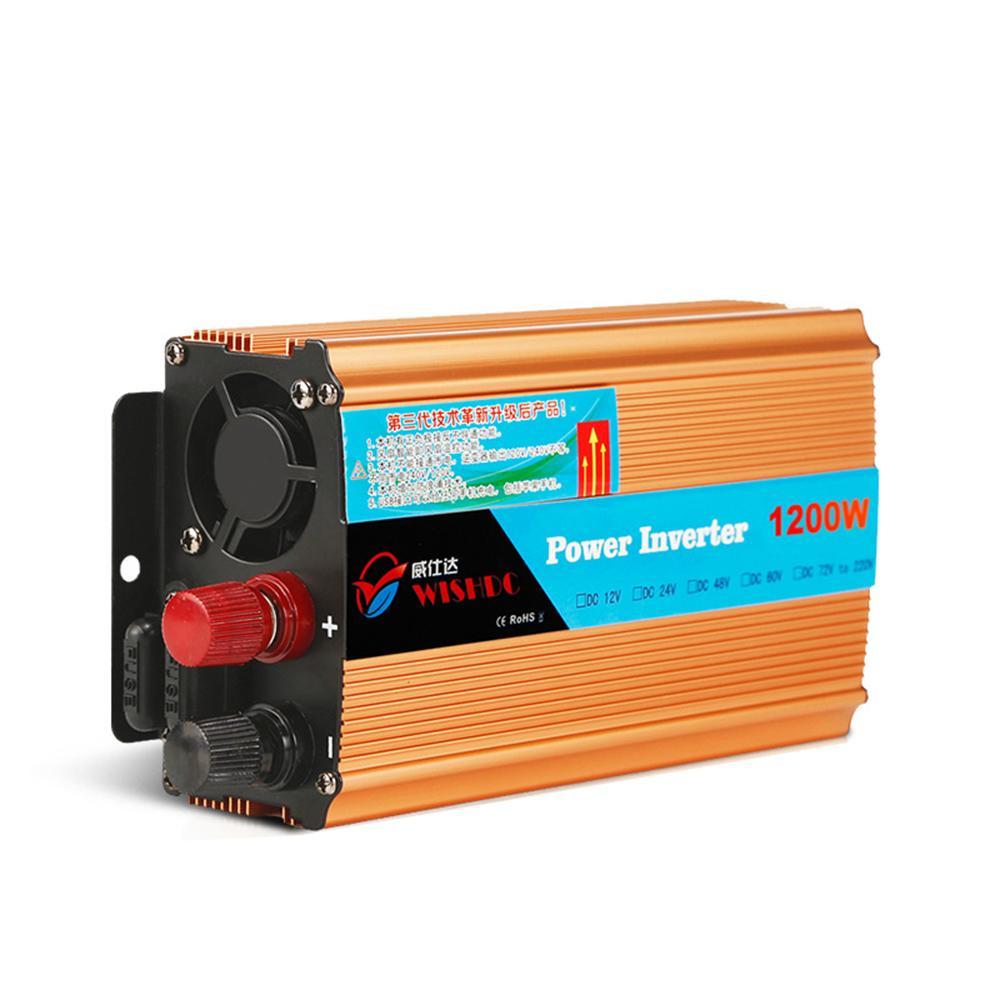 Inversores de Carro 24 V 1200 W Car veículo USB DC 24 V para AC 220 V Conversor Conversor de Energia Do Carro Conversor 24 V a 220 V CY810-CN